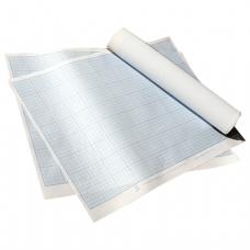 Бумага масштабно-координатная, формат 400*600мм., синяя, ПМБ, ш/к 74277