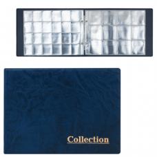Альбом д/монет на 2 кольцах 240х175х27 мм, для 180 монет, 5+5 листов (карманы 33*37мм+50*50мм), М9-03