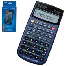 Калькулятор CITIZEN инженерный SR-281N, 12+2 разрядов, питание от батарейки, 154*80мм