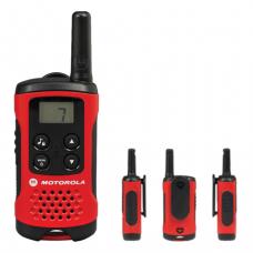Радиостанция MOTOROLA T40, до 4 км, шумоподавление, 8 каналов, КОМПЛЕКТ 2шт.