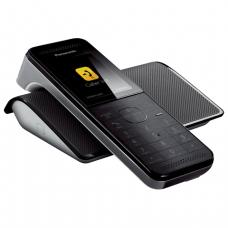 Радиотелефон PANASONIC KX-PRW120W, слот SD, Wi-Fi, пам 50ном, автоотв, спикер, полиф, цв.титан