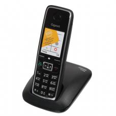 Радиотелефон GIGASET C530 RUS пам 50 ном., повтор номера, тональный/импульсный набор, цв.чёрный