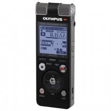 Диктофон OLYMPUS DM-670 8Gb Linear PCM, WAV/MP3/WMA, время записи 2007ч, черный