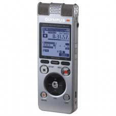 Диктофон OLYMPUS DM-650 4Gb Linear PCM, WAV/MP3/WMA, время записи 1026 ч, серебристый