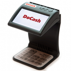 Детектор банкнот DOCASH DVM mini ЖК-монитор 11см, проверка в и/к-свете