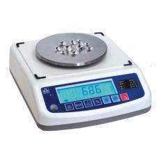 Весы лабораторные МАССА-К ВК-600 (0,5-600г), дискретность 0,01г, платформа диаметр 120мм