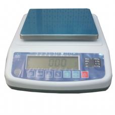 Весы лабораторные МАССА-К ВК-1500 (2,5-1500г), дискретность 0,02г, платформа 136 х162мм