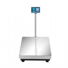 Весы напольные MERCURY M-ER 333L-300.100 (1-300кг), дискретность 100г, платформа 600x800мм, со стойкой