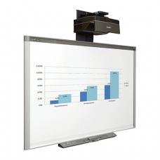 Интерактив компл SMART SBX885ix2: доскаX885, проекторUX80, крон-н, панель управ, 3МЕСТА (460353/54/55)
