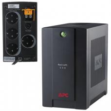 Источник бесперебойного питания APC BC500-RS, 500VA (300W), 4 розетки (3 UPS + 1 фильтр), BC500-RS