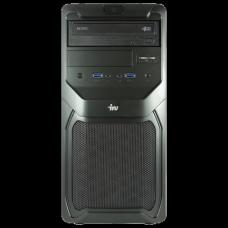 Системный блок IRU Office 310 MT INTEL Celeron G1840 2.8ГГц/4Гб/500Гб/DVD-RW/WIN 7Pro/чер 358005