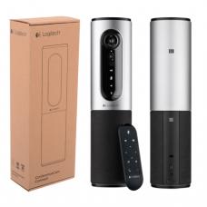 Вебкамера LOGITECH ConferenceCam Connect Silver, 10Мпикс, USB 3.0/2.0, микрофон, автофокус, 960-001038