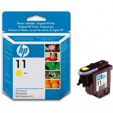 Головка печатающая для плоттера HP (C4813A)  Designjet 510/CC800PS/ 800/500 и др, №11, желтая, ориг.