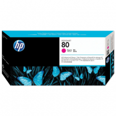 Головка печатающая для плоттера HP (C4822A)  DesignJet 1050c/c plus/1055 и др, №80, пурпурн., ориг.