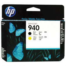 Головка печатающая для плоттера HP (C4900A)  OfficeJet Pro 8000/8500,№940,черн и желт, ориг