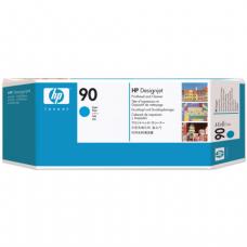 Головка печатающая для плоттера HP (C5055A)  DesignJet 4000/4020/4500/4520, №90, голубая, ориг