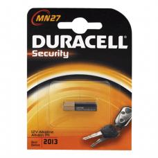 Батарейка DURACELL MN27, в блистере, 12В, (для сигнализаций)