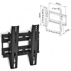 Кронштейн-крепление для ТВ настенный TRONE LPS30-50, VESA75-200/200,17-32