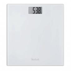 Весы напольные TEFAL PP1000, электрон, макс.нагруз.150кг, квадратн., стекло, белые