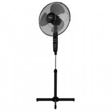 Вентилятор напольный SCARLETT SC-SF111RC02 d=40см, 45Вт, 3 скор. режима, таймер, пульт Д/У, черный