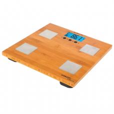 Весы напольные SCARLETT SC-BS33ED79, электрон, макс нагрузка 180кг, квадрат, бамбук