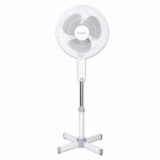 Вентилятор напольный SUPRA VS-30FL d=30см, 30Вт, 3 скор.реж., белый