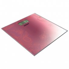 Весы напольные SCARLETT SC-215, электрон, макс нагрузка 180кг, квадрат, стекло, мерцающее покрытие