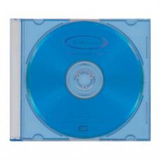 Диск DVD+RW (плюс)  VERBATIM 4,7Gb 4x Color Slim Case 43297 (ш/к-2975)