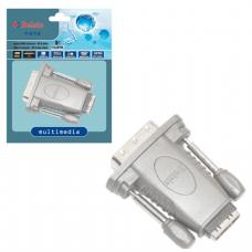 Адаптер (переходник)  HDMI A F (розетка) -DVI-D M (вилка)  BELSIS BW1464