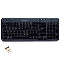 Клавиатура беспроводная LOGITECH Wireless K360, USB, мультимедийная 6доп. кнопок, черный (920-003095)