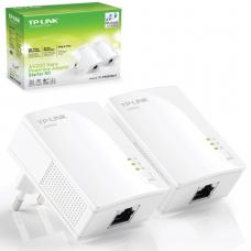 Адаптер-PowerLine TP-LINK TL-PA2010KIT, 1WAN, 10/100 Мбит/с, по сети 200Мбит/с, 2шт