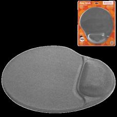 Коврик для мыши DEFENDER Easy Work, серый, 260х225х5 мм, полиуретан+покрытие лайкра, 50915