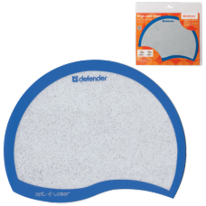 Коврик для мыши DEFENDER Ergo opti-laser, синий, 215х165х1.2 мм, пвх+полиуритан, 50513