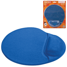 Коврик для мыши DEFENDER Easy Work, синий, 260х225х5 мм, полиуретан+покрытие лайкра, 50916