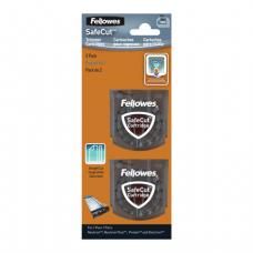 Ножи FELLOWES, НАБОР 2шт., для резаков NEUTRON и ELECTRON, прямая резка, FS-5411401