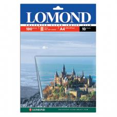 Пленка LOMOND  для цветных струйных принтеров, 10шт., А4, 100мкм, 0708411