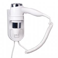 Фен д/волос, стационарный, настенный BXG-1600 H1, 1600Вт, пластик с металлом, белый, ш/к 85395