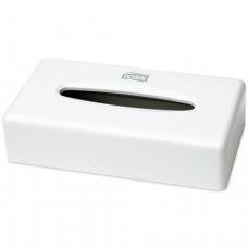 Диспенсер для косметических салфеток TORK (Система F1), настольный, белый, (салфетки 126560), 270023