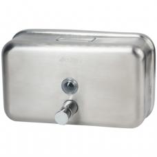 Диспенсер для жидкого мыла KSITEX, НАЛИВНОЙ, нерж.сталь, матовый, 1,2 л, SD-1200M