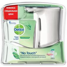 Диспенсер для жидкого мыла DETTOL (Детол), СЕНСОРНЫЙ+картридж с мылом