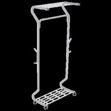 Вешалка для плечиков SHT-WR546 (в1700*ш780*г460мм), передвижная, металл серый, ш/к 95584