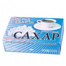 Сахар-рафинад 1кг (336 кусочков, размер 12*14*15мм),  картонная упаковка, ш/к 0286