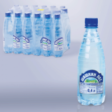Вода газированная питьевая