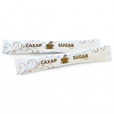 Сахар в стиках 5г, порционный, 200 пакетиков, картонная упаковка, шк 61216/00071