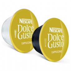 Капсулы для кофемашин NESCAFE Dolce Gusto Cappuccino, нат. кофе 8шт*8г, мол. капс 8шт*17г, 5219849