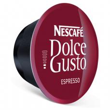 Капсулы для кофемашин NESCAFE Dolce Gusto Espresso, натуральный кофе 16шт*6г, 5219839