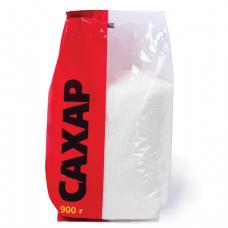 Сахар песок 0,9 кг, полиэтиленовая упаковка, 00187