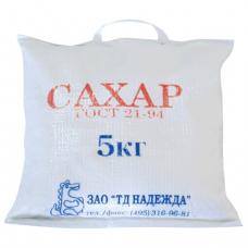 Сахар песок 5 кг, мешок, 500316