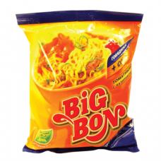 Лапша BIG BON быстрого приготовления с говядиной и соусом