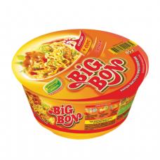 Лапша BIG BON быстрого приготовления с курицей и соусом